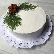 Torta navidad decorada
