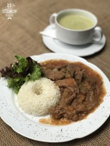 Estofado de vacuno con arroz