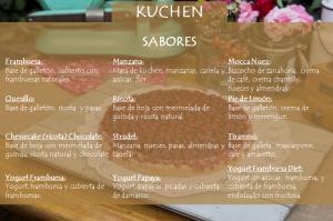 sabores kuchen